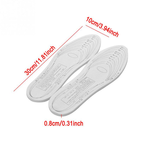 Image of Memory Foam Insoles (Made with Real NASA Grade Temper Foam)