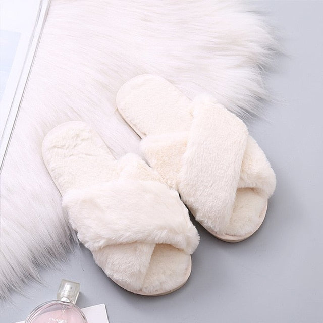 Most Comfortable Slippers in the World (Faux Fur)