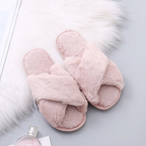 Image of Most Comfortable Slippers in the World (Faux Fur)
