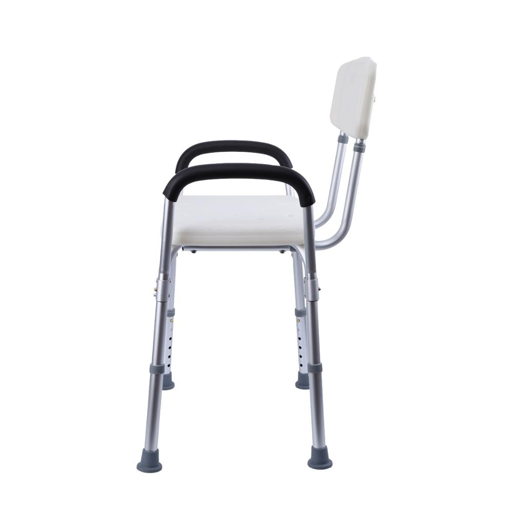 Shower Chair with Adjustable Height