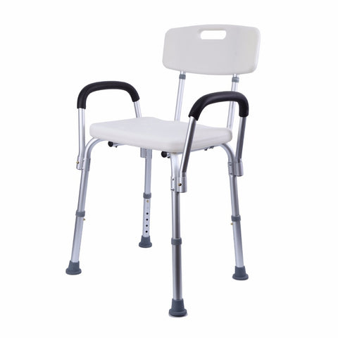 Image of Shower Chair with Adjustable Height