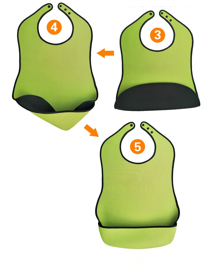 Adult Bib (Waterproof, Anti-oil)