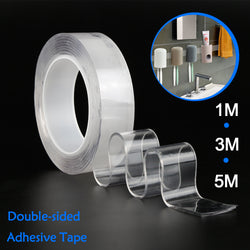 Nano Magic Tape - Double Sided Transparent Waterproof Adhesive Tape (Reusable)