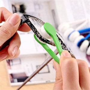 Bamboo Fiber Eyeglass Lens Cleaning Brush (Won't Scratch!)