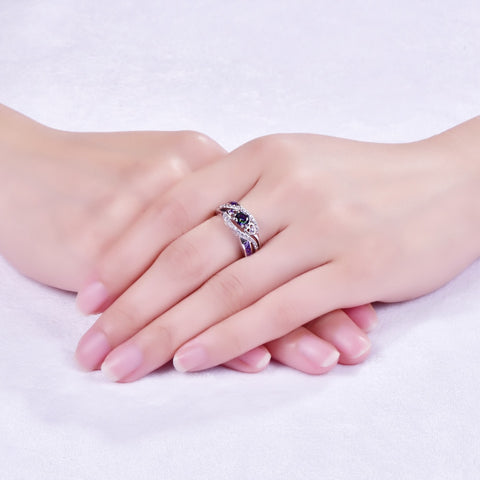 Image of Oval Heart Ring