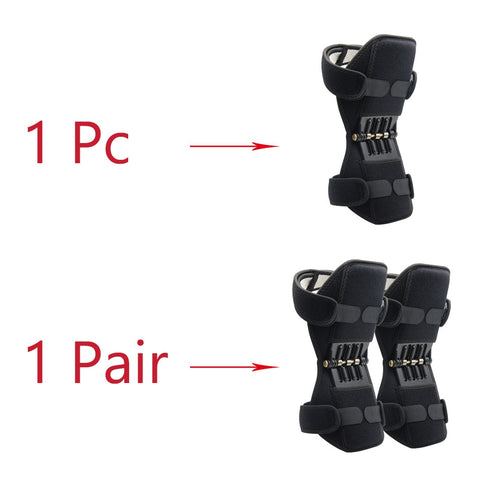 Image of Powerful Rebound Spring Force Knee Booster Pads