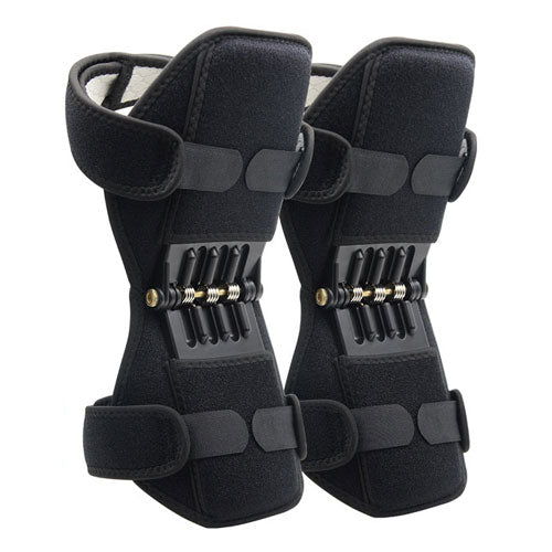 Powerful Rebound Spring Force Knee Booster Pads