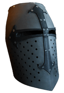 Foam Armory - Crusader Flat Top Helm