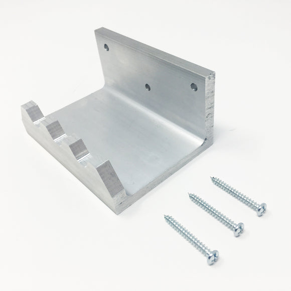 Aluminum Foot Hook for Doors - Angle View