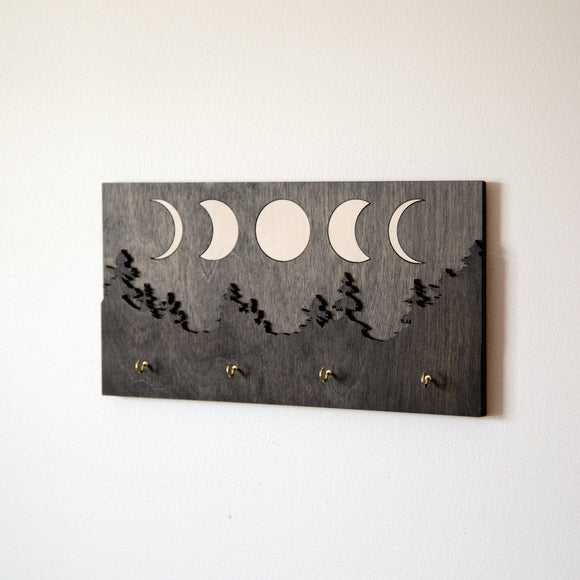 Moon Phase Key Holder