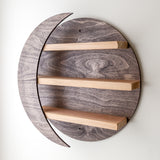 Crescent Moon Wall Shelf