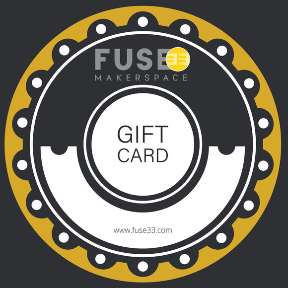 Fuse33 Online Store Gift Card ($10 - $250)