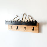 Mountain Coat Rack