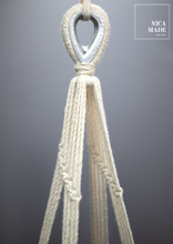 Load image into Gallery viewer, Baby Swing Hammock Macrame Handwoven Chair