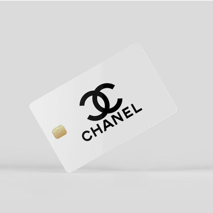 Credit Card Credit Card Chanel Classic CC White Window Skin Sticker - Luxury Vinyl