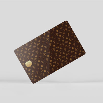 Credit Card Credit Card Louis Vuitton Monogram Window Skin Sticker - Luxury Vinyl