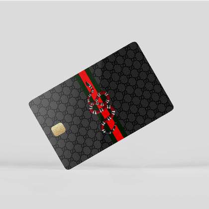 Credit Card Credit Card Gucci Classic Snake Window Skin Sticker - Luxury Vinyl