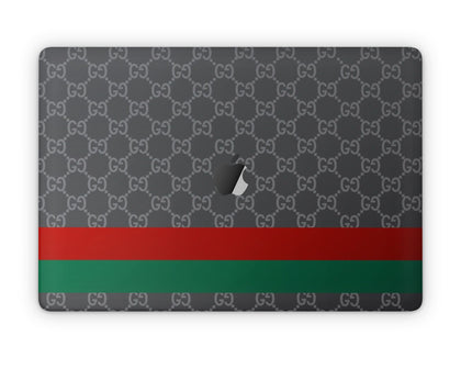 Apple MacBook Gucci Classic Stripe  Skin Sticker - Luxury Vinyl