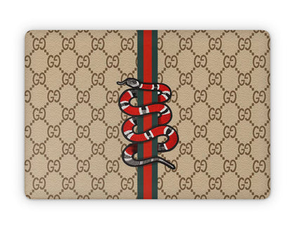 Apple MacBook Gucci Classic Snake  Skin Sticker - Luxury Vinyl