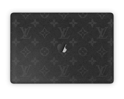 Apple MacBook Louis Vuitton Damier Black  Skin Sticker - Luxury Vinyl