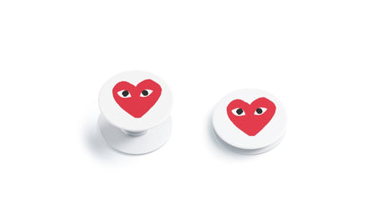 PopSocket PopSocket CDG Play Heart Logo  Skin Sticker - Luxury Vinyl