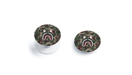 PopSocket PopSocket A Bathing Ape BAPE Shark  Skin Sticker - Luxury Vinyl