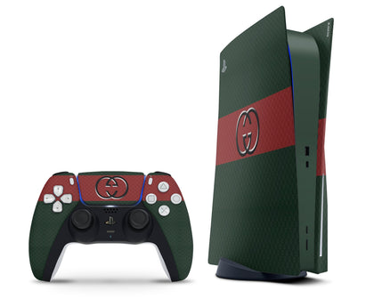 PlayStation PS5 Gucci GC Classic PS5 Skin Sticker - Luxury Vinyl