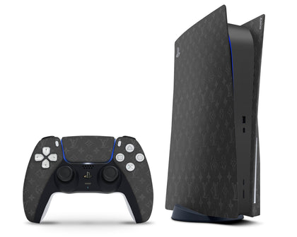 PlayStation PS5 Louis Vuitton Monogram Eclipse PS5 Skin Sticker - Luxury Vinyl