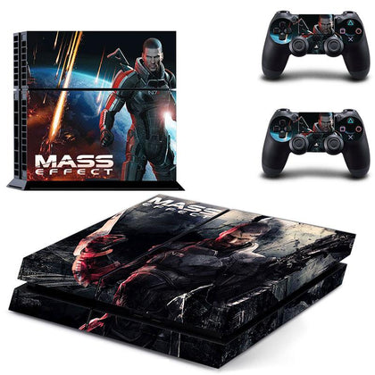 PlayStation PS4 Mass Effect Skin Sticker - Game Vinyl