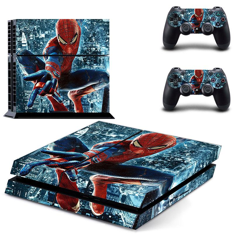 Spider-Man PS4 Skin Sticker Wrap