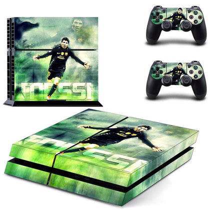 PlayStation PS4 Lionel Messi Skin Sticker - Sport Vinyl