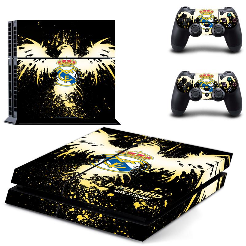 Real Madrid PS4 Skin Sticker Wrap