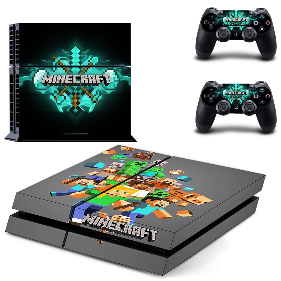 Minecraft PS4 Skin Sticker Wrap
