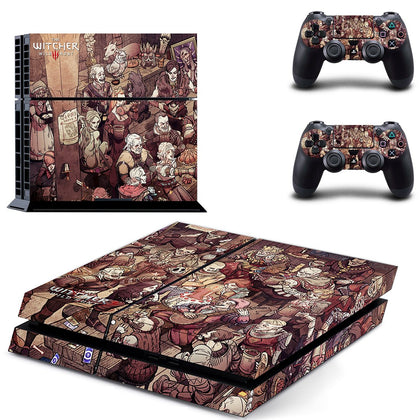 PlayStation PS4 Witcher Wild Hunt Skin Sticker - Game Vinyl