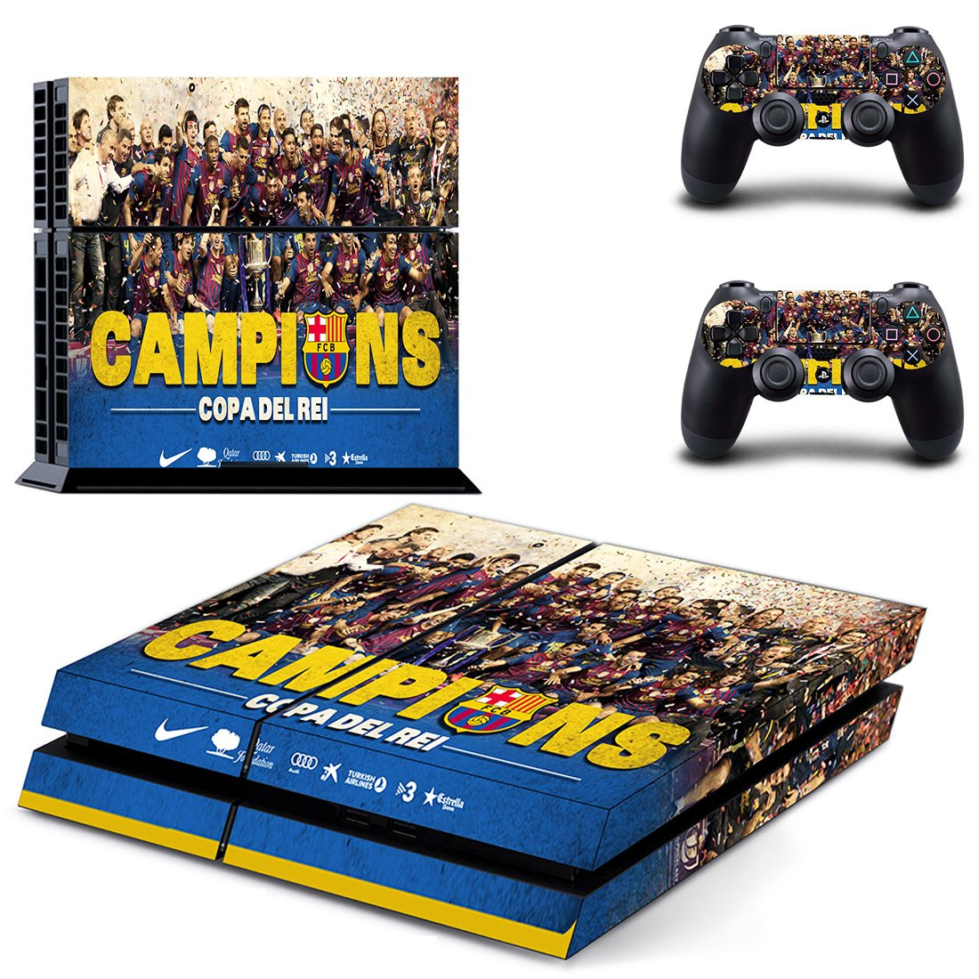 Barcelona PS4 Skin Sticker Wrap
