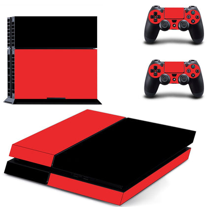 PlayStation PS4 Solid Colours Skin Sticker - Design Vinyl
