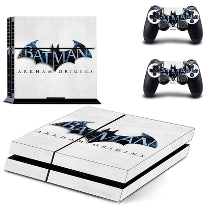 PlayStation PS4 Batman Skin Sticker - Superhero Vinyl