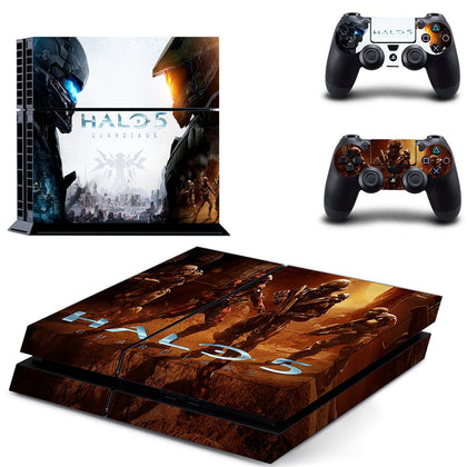 PlayStation PS4 Halo Skin Sticker - Game Vinyl