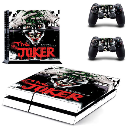PlayStation PS4 Joker Skin Sticker - Superhero Vinyl