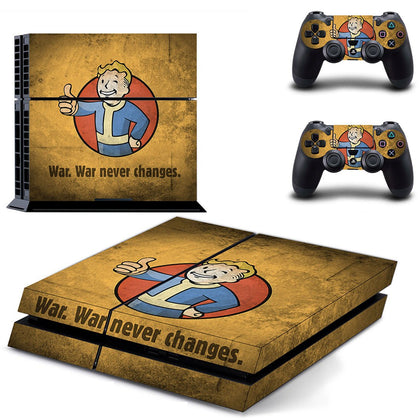 PlayStation PS4 Fallout Skin Sticker - Game Vinyl