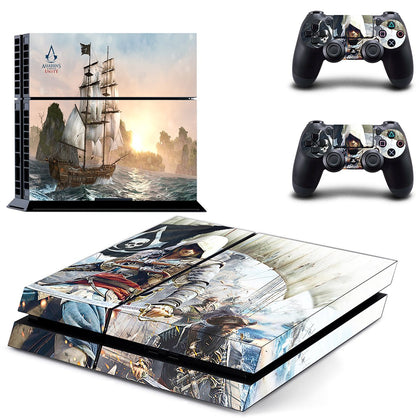 PlayStation PS4 Assassins Creed Skin Sticker - Game Vinyl