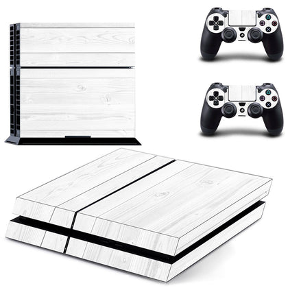 PlayStation PS4 Wood Skin Sticker - Design Vinyl
