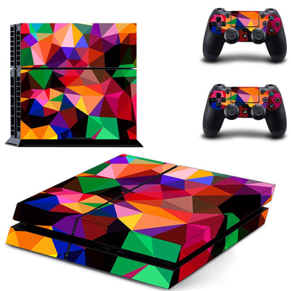 PlayStation PS4 Colours Skin Sticker - Design Vinyl