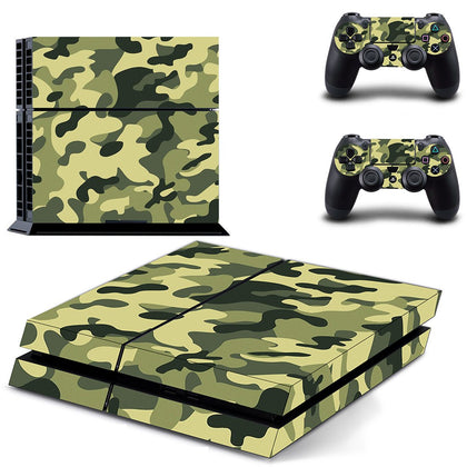 PlayStation PS4 Camo Skin Sticker - Design Vinyl