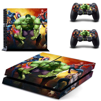 PlayStation PS4 Avengers Skin Sticker - Superhero Vinyl