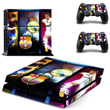 PlayStation PS4 Barcelona Skin Sticker - Sport Vinyl