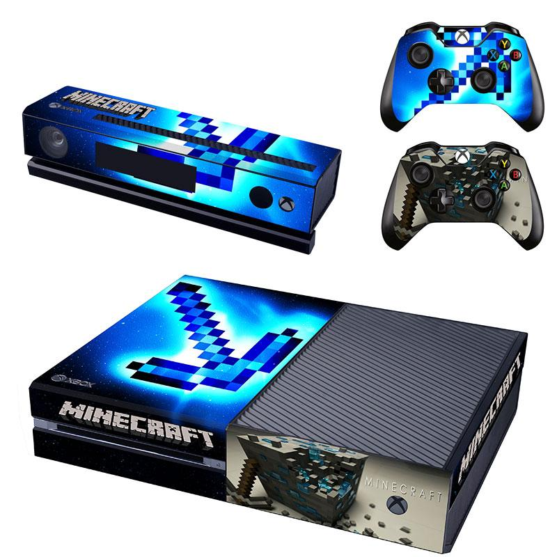Minecraft Xbox One Skin Sticker Wrap