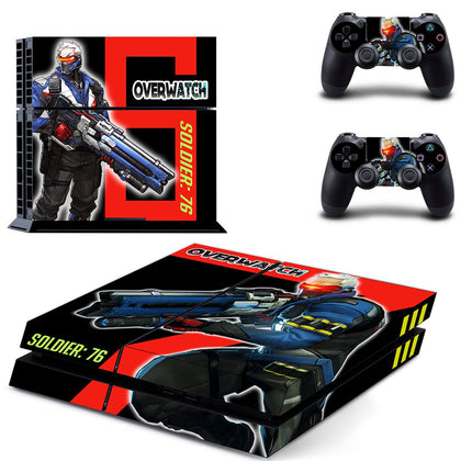 PlayStation PS4 Overwatch Skin Sticker - Game Vinyl