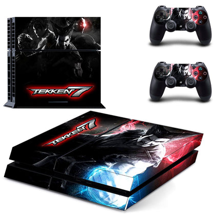 PlayStation PS4 Tekken Skin Sticker - Game Vinyl