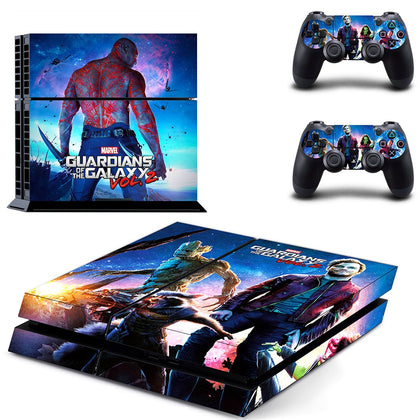 PlayStation PS4 Guardians Of The Galaxy Skin Sticker - Superhero Vinyl
